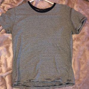striped brandy melville shirt